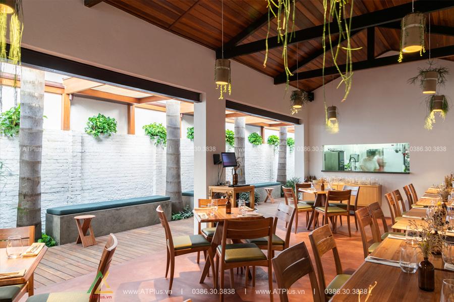 thi công nội thất nhà hàng trọn gói giá rẻ tại Nam ĐỊnh
