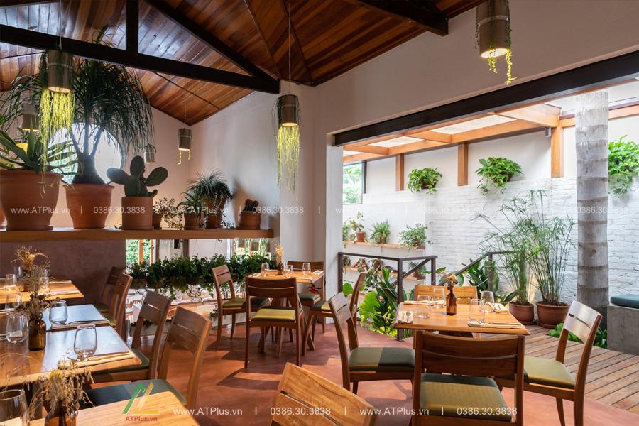 thiết kế nội thất nhà hàng tại Hải Dương