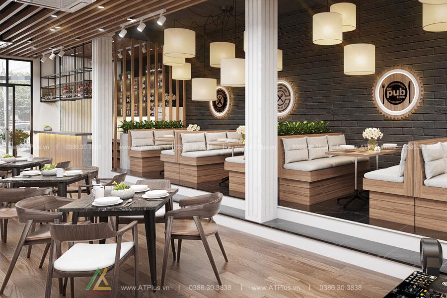 trang trí nội thất nhà hàng cao cấp tại Ninh Bình