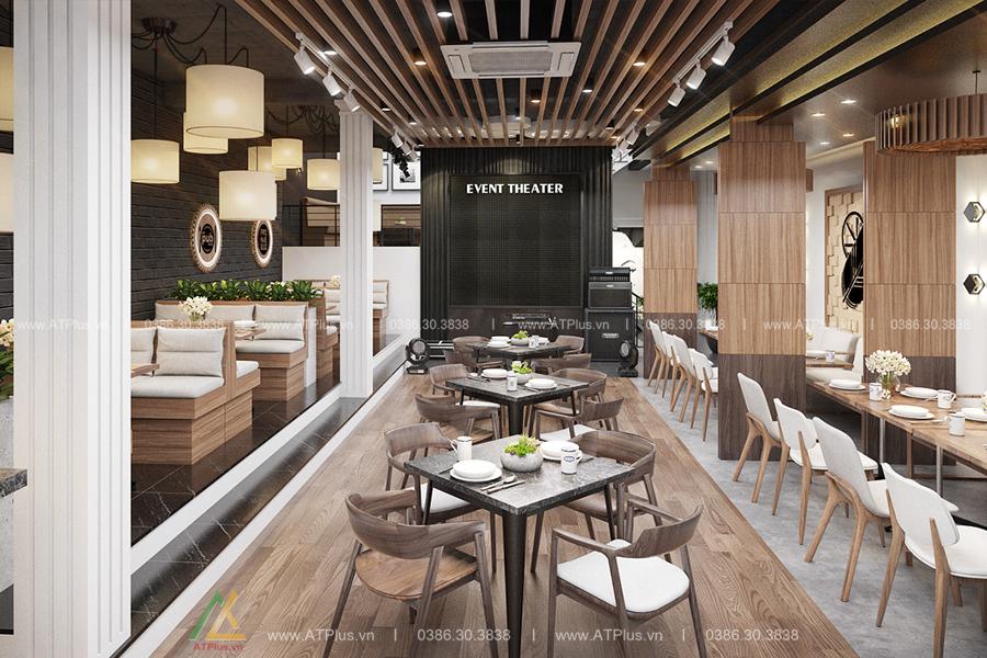 thiết kế thi công nội thất nhà hàng cao cấp tại Ninh Bình