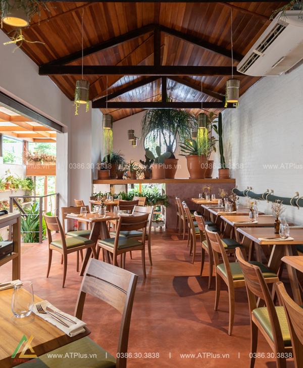 trang trí nội thất nhà hàng tại Hải Dương