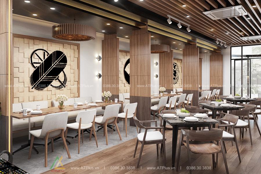 thiết kế nội thất nhà hàng đẹp tại Ninh Bình