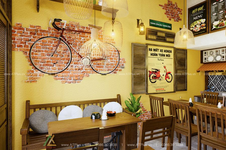 thiết kế nội thất nhà hàng giá rẻ tại Ninh Bình