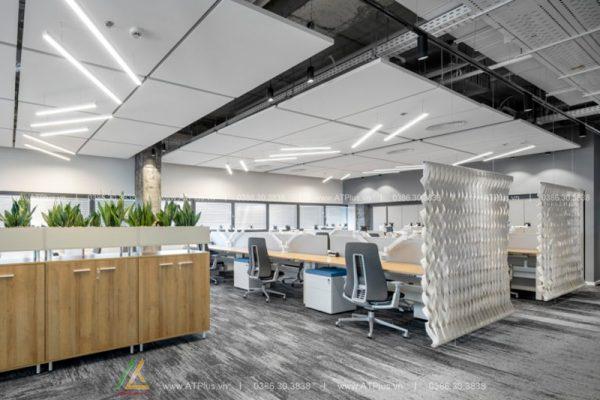 thiết kế thi công nội thất văn phòng uy tín tại Hải Dương