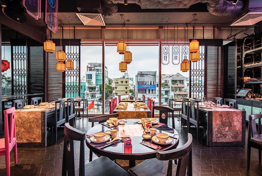 thiết kế nhà hàng trọn gói tại Hải Dương