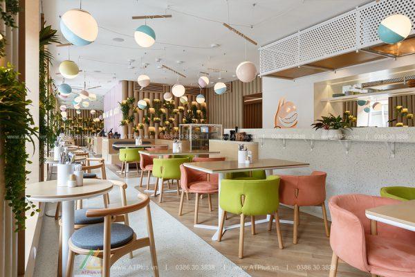 thiết kế thi công nội thất nhà hàng tại Hà Nam