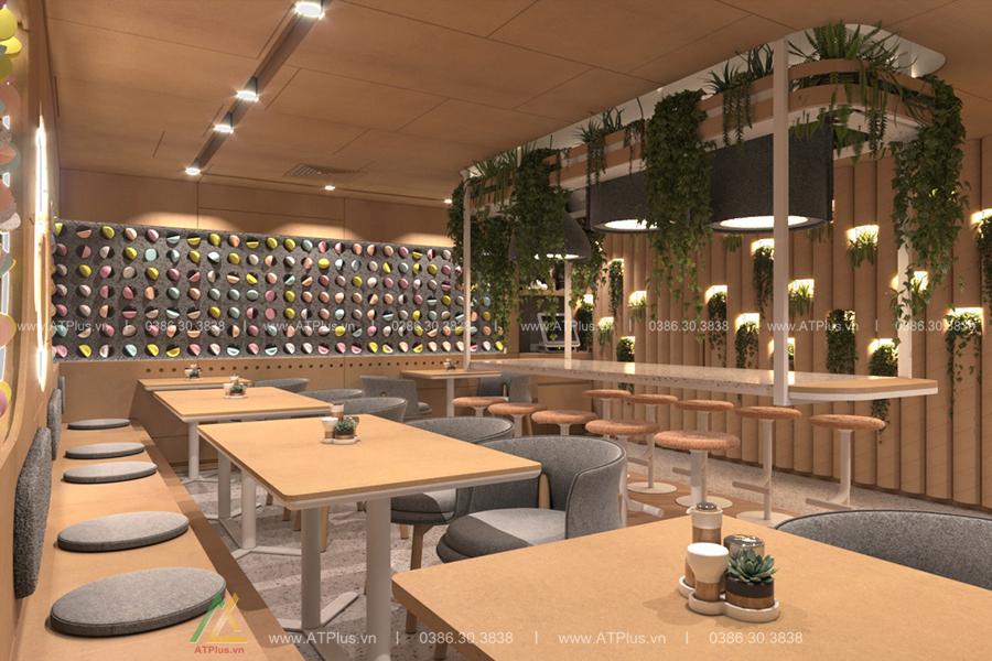 thiết kế nội thất nhà hàng tại Hà Nam