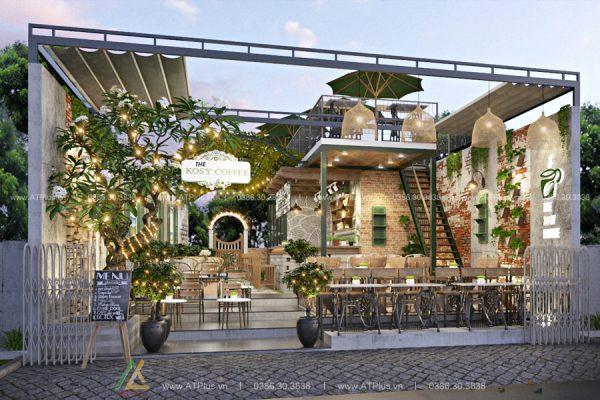 Báo giá thiết kế thi công nội thất quán tại Hà Nam