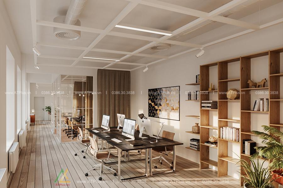 thiết kế thi công nội thất văn phòng tại Ninh Bình