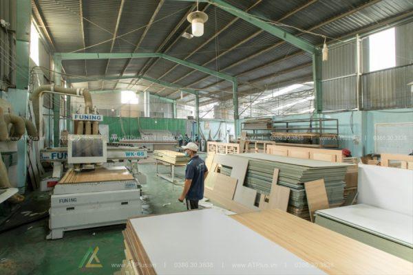 xưởng sản xuất gỗ công nghiệp nội thất atplus